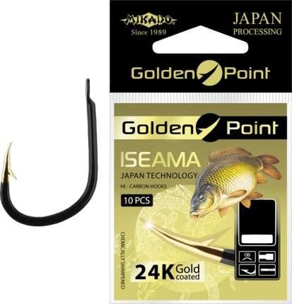 Рыболовные крючки Mikado Golden Point Izeama №6, 10 шт.