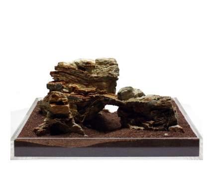 Камень для аквариума и террариума UDeco Colorado Rock M, натуральный, 10-20 см