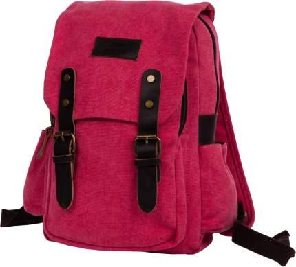 Рюкзак женский кожаный Polar П1488 6,5 л красный
