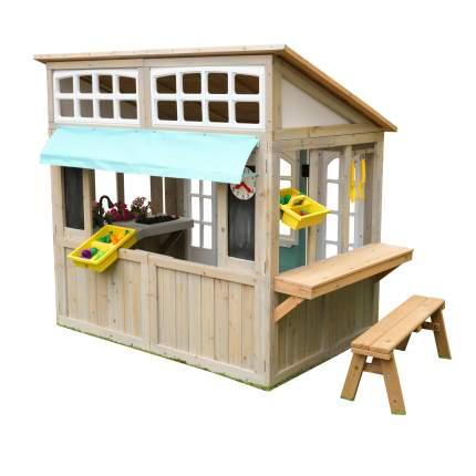 Игровой домик KidKraft Загородный с кухней с садовым инвентарем