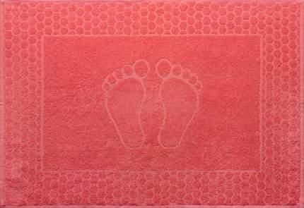 """Полотенце махровое """"Ножки"""" (коралловое) 48х70"""