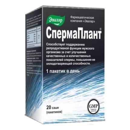 СпермаПлант Эвалар 20 саше 3,5 г