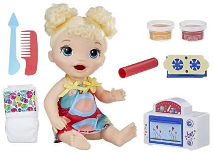 Кукла Baby Alive Малышка и еда E1947