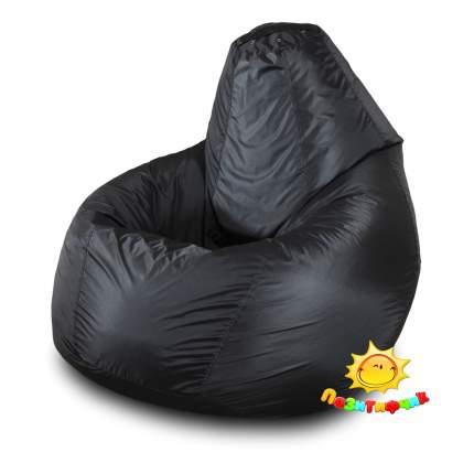 Кресло-мешок Pazitif Груша Пазитифчик Оксфорд M, черный