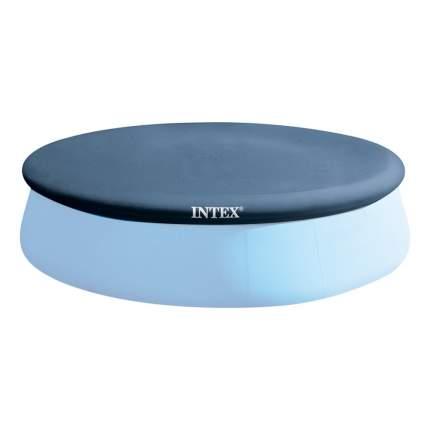 Тент для надувного бассейна intex easy set pool, диаметр, 457 см, арт, 28023, Интекс