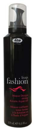 Мусс для волос Lisap Fashion Mousse Design Strong 250 мл