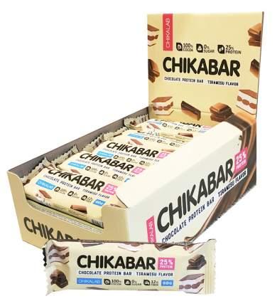 Chikalab Chocolate Protein Bar 60 г (вкус: тирамису) Протеиновые батончики в шоколаде