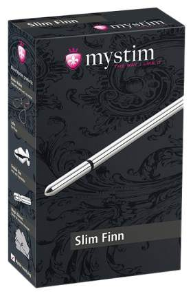 Массажер уретры с электростимуляцией slim finn, 15 см