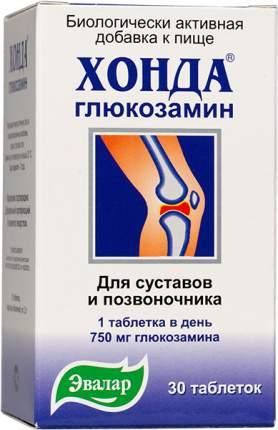 Эвалар Хонда Глюкозамин максимум (30 таб.)