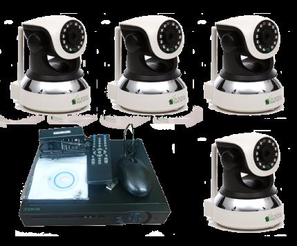 """Комплект видеонаблюдения """"Zodikam Combo Home 4 WiFi V2"""""""