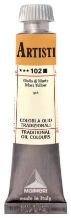 Масляная краска Maimeri Artisti M0102102 марс желтый 20 мл