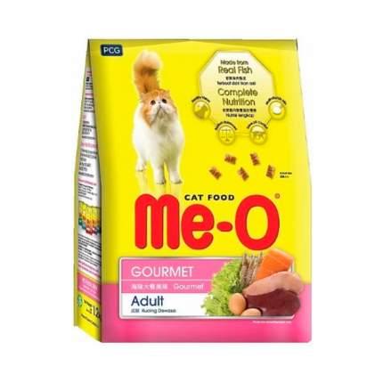 Сухой корм для кошек Me-O Adult, деликатес, 7кг