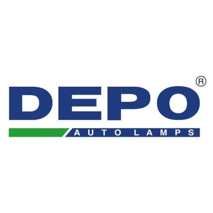 Штатная дополнительная противотуманная фара Depo 4422006LUE