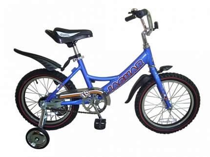 Детский двухколесный велосипед Jaguar MS-A162 синий