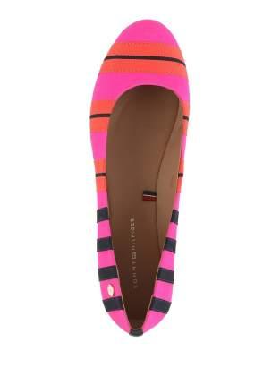 Балетки женские Tommy Hilfiger FW56816820 разноцветные 36 RU