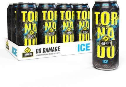 Энергетический напиток  Tornado Energy Ice 12 шт по 450 мл