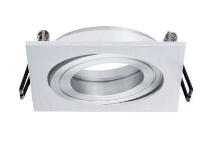 Светильник встраиваемый набор из 3-х шт., Spot Quadro schw Al-g 92595