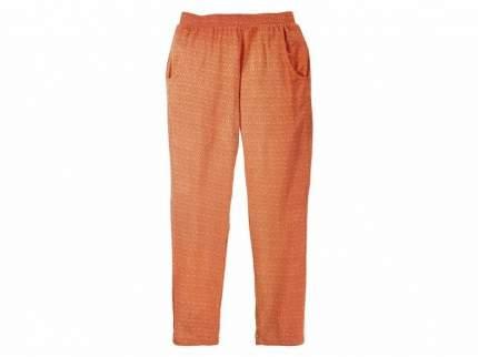 Брюки для девочки Pepperts оранжевые р.122-128