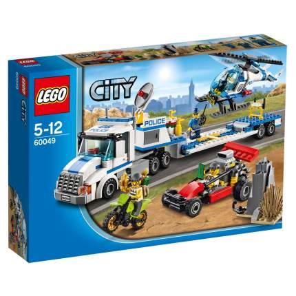 Конструктор LEGO City Police Перевозчик вертолёта (60049)