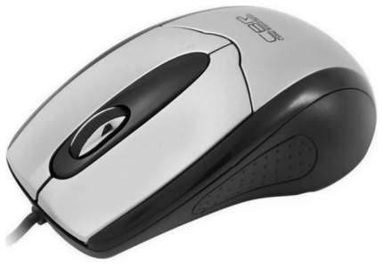 Мышь проводная CBR CM 101 Silver USB