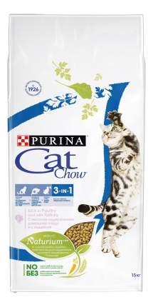Сухой корм для кошек Cat Chow Special Care 3 in 1, домашняя птица, 15кг