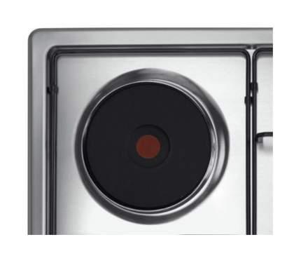 Встраиваемая варочная панель комбинированная Candy CLG 631 SPX Silver
