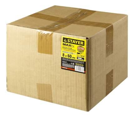 "Дюбель-гвоздь Stayer ""MASTER"" 30640-08-060, 8 x 60 мм, 1000 шт"