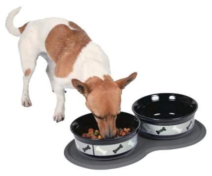 Коврик под миску для животных Trixie фигурная 24561