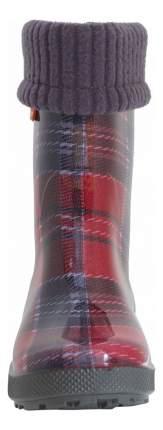Резиновые сапоги Demar Красная клетка 28-35 р 28-29 размер