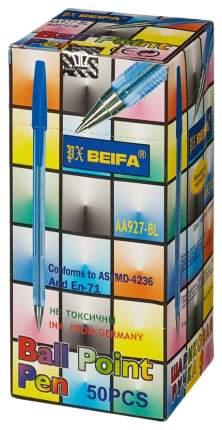 Ручка Beifa AA927 шариковая синяя 50шт