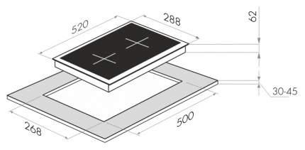 Встраиваемая варочная панель индукционная MAUNFELD EVI.292-WH White