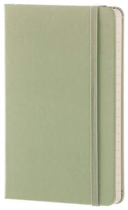 Блокнот Moleskine Classic Pocket, Зеленый, в линейку