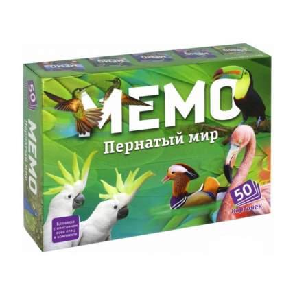 Настольная игра Нескучные Игры Мемо Пернатый мир