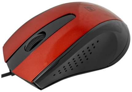 Проводная мышка Defender MM-920 Red/Black (52920)