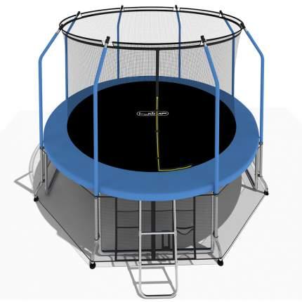 Батут i-Jump Elegant с сеткой и лестницей 488 см