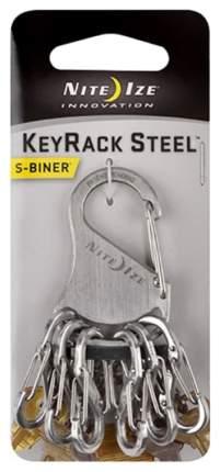 Набор карабинов Nite Ize S-Biner KeyRack Steel Stainless KRS-03-11