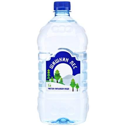 Вода Шишкин лес негазированная пластик 1 л 12 штук в упаковке