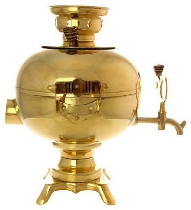 Самовар электрический Тула Желтый шар 3 л 130278