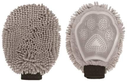 Щетка-рукавица для животных Dog Gone Smart Grooming Mitt Серый