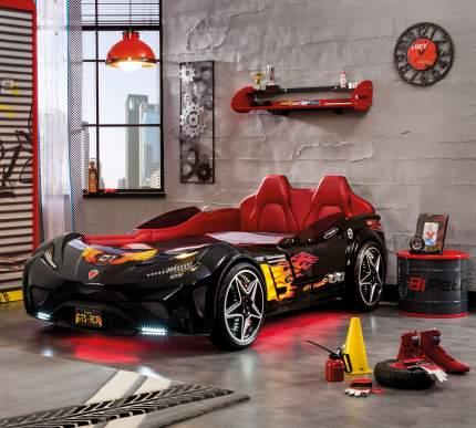 Кровать-машина Cilek Carbed GTS черная 100х190