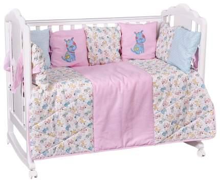 Комплект детского постельного белья Polini Собачки 0001860-02 5 предметов