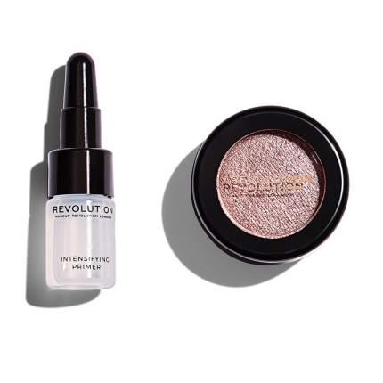 Праймер + тени для век Makeup Revolution Flawless Foils, Rival