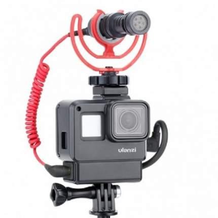 Рамка ULANZI V2 для микрофона GoPro7 Black, GoPro 6, GoPro 5