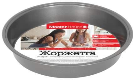 "Форма для выпечки MasterHouse ""Жоржетта"", сталь, диаметр 24,5см 60413"