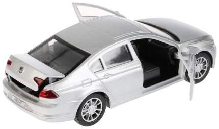 Машина металлическая инерционная Volkswagen Passat, цвет серебристый, 12 см Технопарк