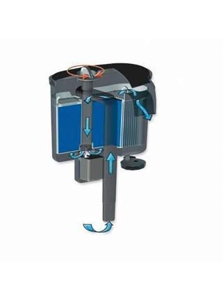 Фильтр для аквариума навесной (рюкзачный) Aquael VERSAMAX 2, 800 л/ч, 7,2 Вт
