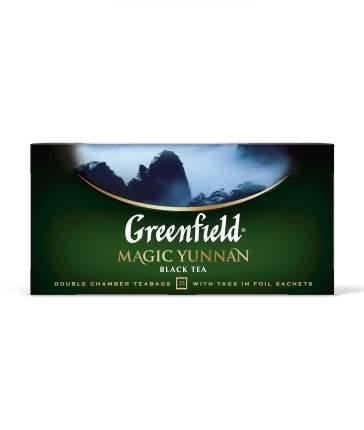 Чай черный Greenfield magic yunnan 25 пакетиков