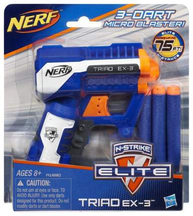 Бластер Hasbro Nerf Элит Триад A1690EU4