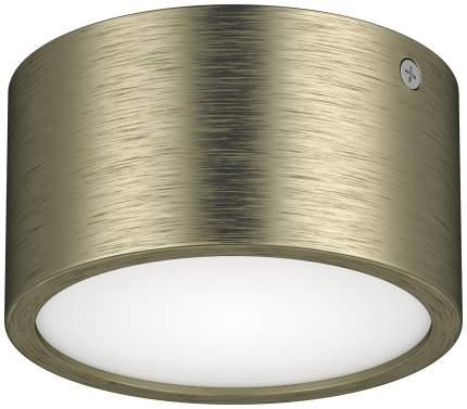 Накладной светодиодный светильник Lightstar Zolla 211911 Бронза