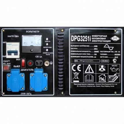 Бензиновый генератор DDE DPG3251i
